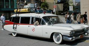 Cadillac Ecto-1 cazafantasmas