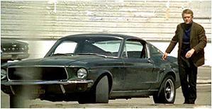 Ford Mustang GT390 Bullit