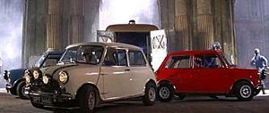 Mini Cooper S Un trabajo en Italia