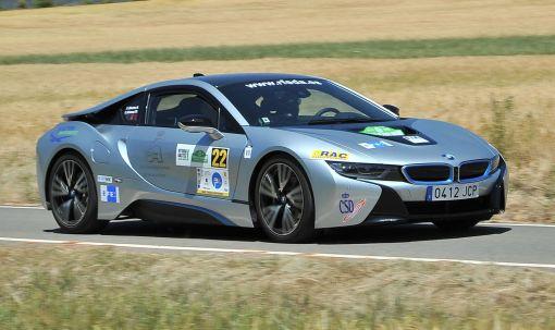 BMW i8. Eco Rallye Vasco-Navarro