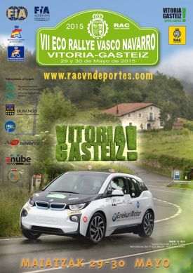 Cartel Eco-Rallye Vasco-Navarro
