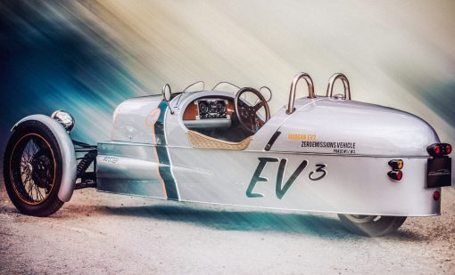 Morgan EV3, Vistra trasera
