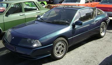 Alpine GTA 1.984. Vista Lateral