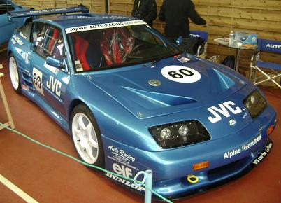 Alpine A610 preparado para competición.