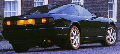Aston Martin Virage. Vista trasera.