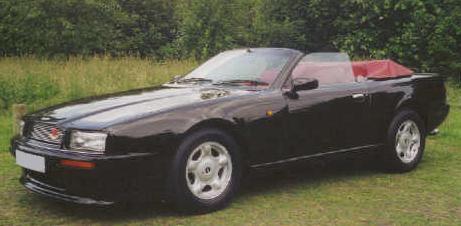 Aston Martin Virage Volante. Cabrio.