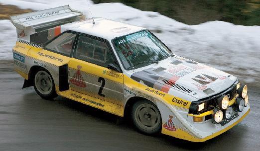 Audi Sport Quattro S1. Vista Lateral.