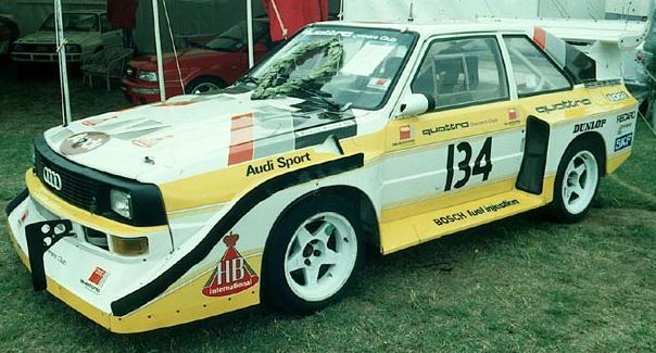 Audi Sport Quattro S1. Uno de los últimos Grupo B.