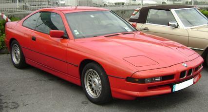 BMW Serie 8 (E31). Vista Frontal.