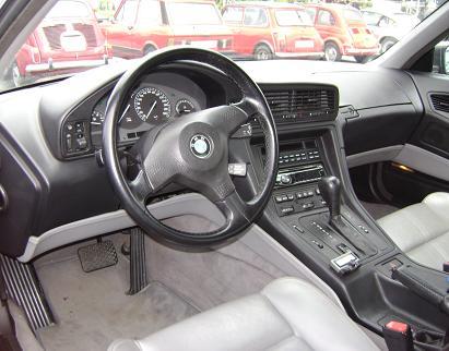 BMW serie 8 (E31). Lujoso Interior.