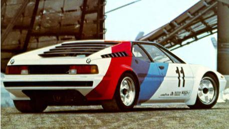 BMW M1. Vista Trasera.