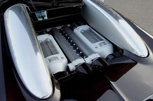 Bugatti Veyron 2005. El teraturbo más veloz.