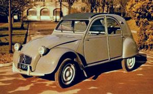 Citroën 2CV AZL. Vista Frontal.