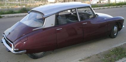 Citroën ID. Vista Trasera.
