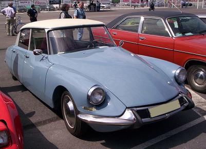Citroën DS. Vista Frontal.