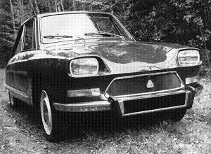 Citroën M35, El AMI 8 Coupe