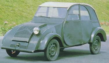 Citroën 2CV, Monofaro año 1939.