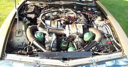 Citroen SM. Motor V6 Origen Maserati