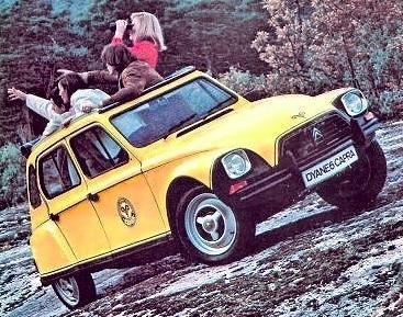 Citroën Dyane Capra.