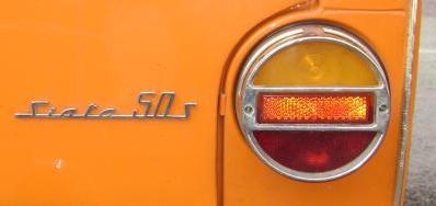 Logotipo y Piloto Trasero Ebro Siata 50 S