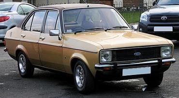 Ford Escort MkII Ghia 1.6