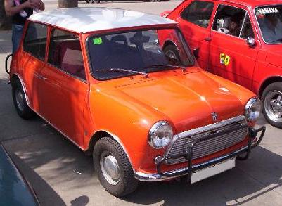 Austin Mini (AUTHI). Vista frontal.