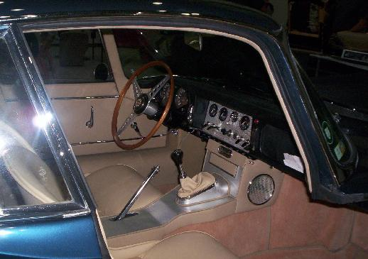 Interior Jaguar E Type Coupé