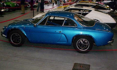 Alpine A110. Vista Lateral.