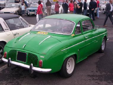 Renault Dauphine Coupé. Henry Chapron. Vista trasera