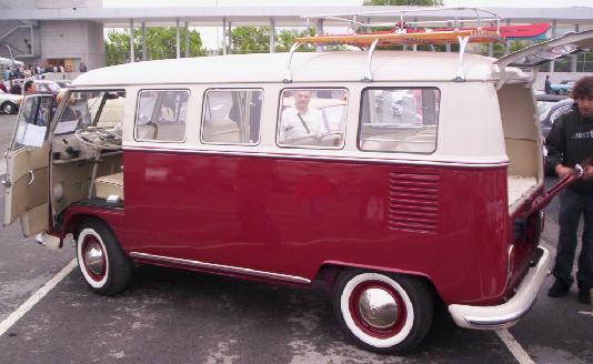 Volkswagen transporter T1, Vista lateral.