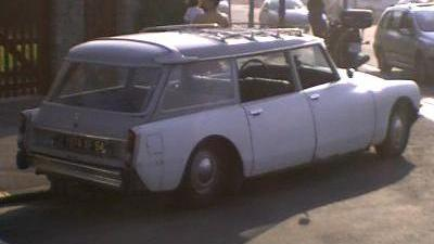 Citroën DS Safari. Citroën DS Break.