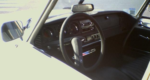 Citroën DS Break. interior.
