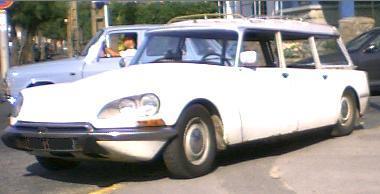 Citroën DS Break. Vista frontal.
