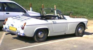 MG Midget. Vista lateral.