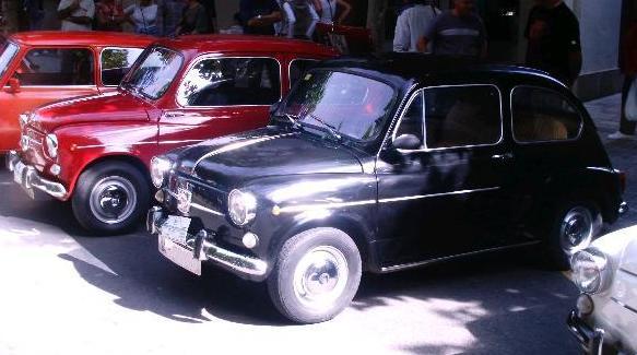 I Concentración de SEAT 600 de Gipuzkoa