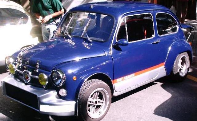 SEAT 600 replica FIAT 600  Abarth