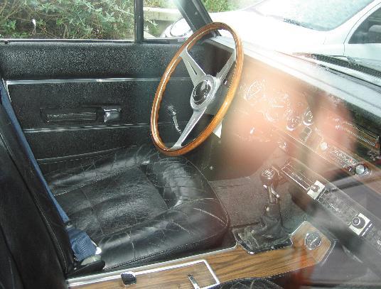 Dodge 3700 GT. Interior.