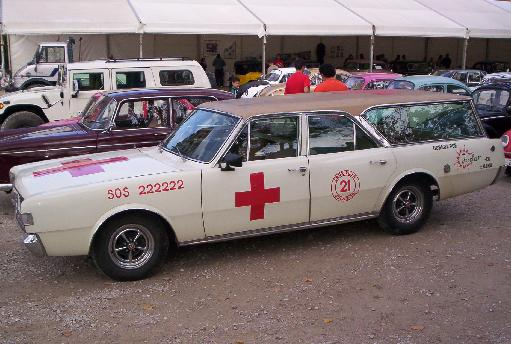 Dodge 3700 GT Ambulancia