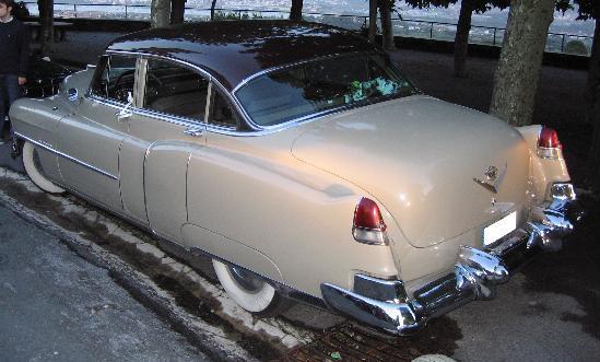 Cadillac Series Sixty-two. Aletas traseras
