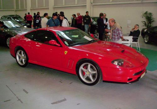 Ferrari 550 Manarello espuesto por el comercial Francés Daverat