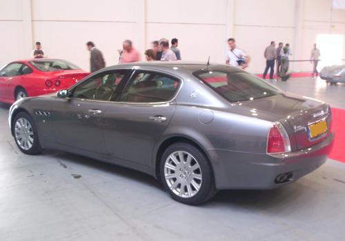 Maserati Quattroporte. FICOAUTO 2007.