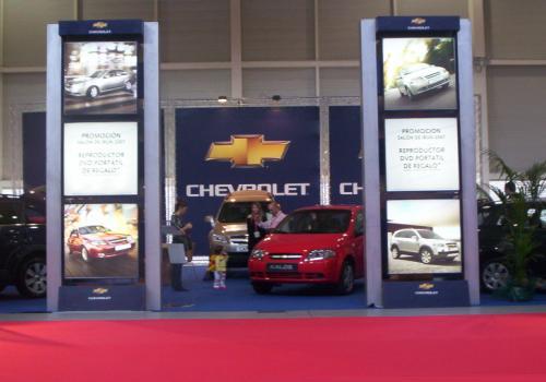 Chevrolet contó con el Stand más atractivo y trabajado de la feria