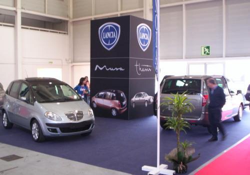 Stand Lancia. FICOAUTO 2007.