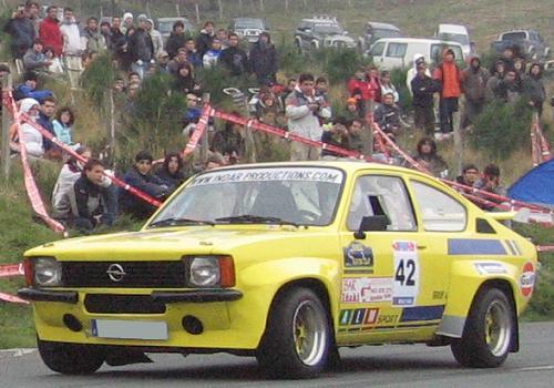 Opel Kadett GTE de Javier Mur