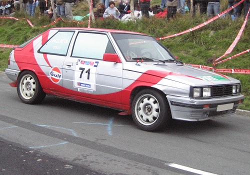 Renault 11 Turbo de David Otazu