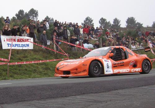 Egoi Eder Valdés en su Speed Car GT-1000