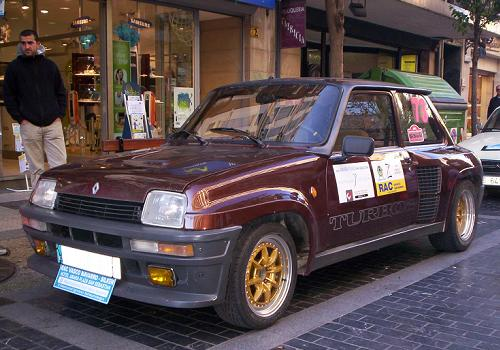 Renault 5 Turbo2. X memorial Ignacio Sunsundegui.