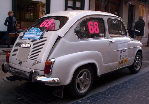SEAT 600 E. X memorial Ignacio Sunsundegui.