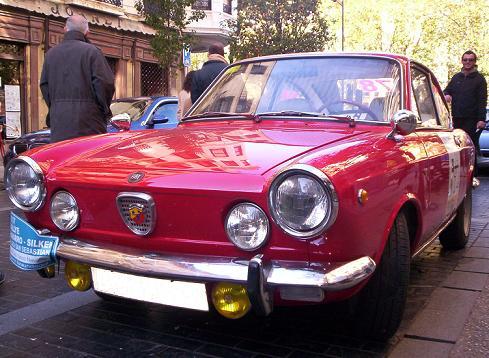 FIAT 850 Coupé Abarth. Rallye Vasco Navarro de Clásicos Deportivos 2007.
