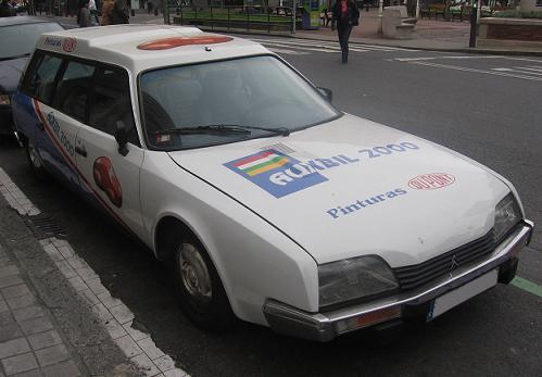 Citroën CX Break 7 Plazas.